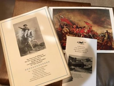 Fine American Art Calendar Collection - 14th Ed. Salutes 200 Years of Freedom for Our America : BICENTENNIAL 1976 EDITION