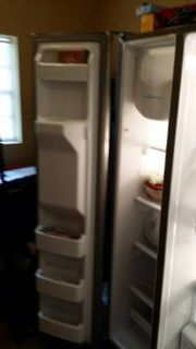 GE stainless steel  refrigerator for sale