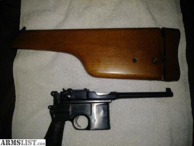 For Sale/Trade: 1904 Mauser broomhandle 30 luger