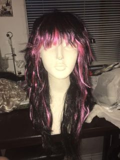 Synthetic costume wig