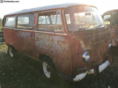 1969 VW Sunroof Early Bay deluxe patina project