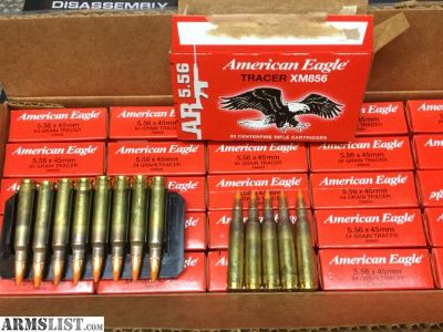For Sale: AR-15 5.56 Tracer Rounds