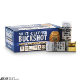 For Sale: 220 Rounds NobelSport MultiDefense 12 Ga 2.75""