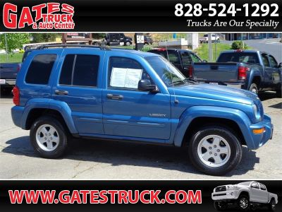 2004 Jeep Liberty Limited (Blue)