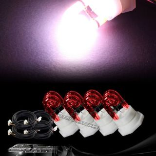 Purchase 4X Replacement Bulbs For 120 / 160 Watt Hide A Way Strobe Light - RED motorcycle in Rowland Heights, California, United States