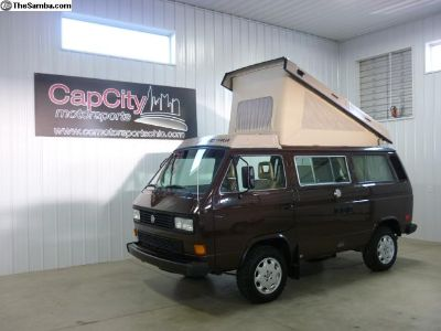 Vanagon Syncro Westy READY TO GO! Suby and Locker!