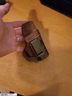 For Sale/Trade: Stoner small holster (Leather)