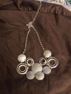 Silver necklace from Cato 2.00