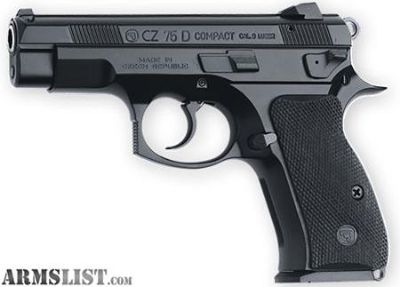 For Sale: CZ 75 D PCR Compact New In Box 599.95