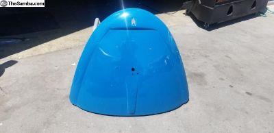 1966 Deck lid Original Paint Patina L360 Sea Blue