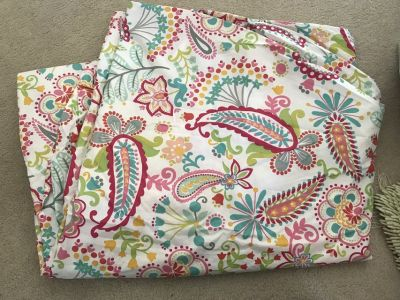 Queen Pottery Barn Teen Duvet Cover
