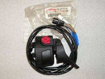 Buy Genuine Yamaha snowmobile RH throttle switch with thumb warmer FX Nytro Phazer motorcycle in Minneapolis, Minnesota, United States, for US $79.95