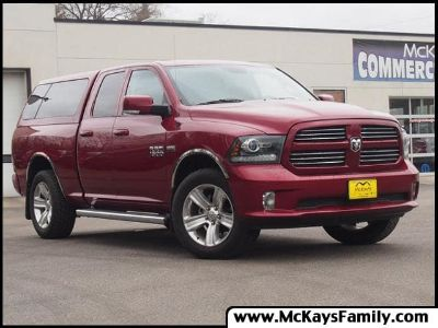 2013 RAM RSX Sport (Deep Cherry Red Crystal Pearl)