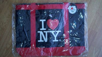 I love New York NY bag tote carrying purse