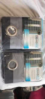 Beautyrest Blackout Curtains! Never used!!
