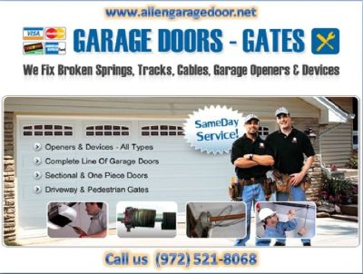 24/7 Residential Garage Door Installation ($25.95) Allen|Dallas,75071, TX