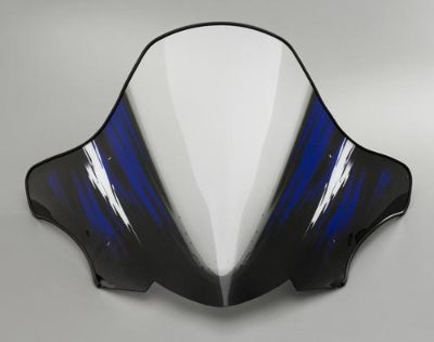"Buy Yamaha 07-13 Phazer Designer Windshield Blue Blizzard Medium 18"" Snow Sled Trail motorcycle in Maumee, Ohio, US, for US $84.99"