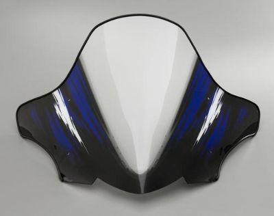 "Buy Yamaha 07-13 Phazer Designer Windshield Blue Blizzard Medium 18"" Snow Sled Trail motorcycle in Maumee, Ohio, US, for US $84.99"