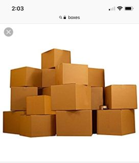 Boxes as packing paper -free