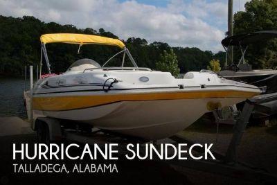 2013 Hurricane 201 Sundeck Sport