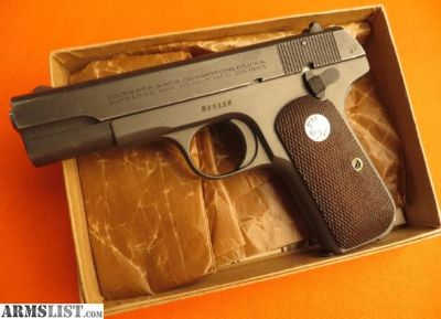For Sale: Colt Model 1903 With General Officer Slide .32 Auto (7.65 Browning)