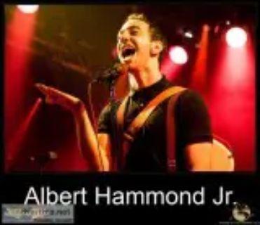 Albert Hammond Jr. concert at Los Angeles CA. March .