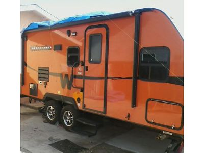 2015 WINNEBAGO MINNIE 22', TRAVEL TRAILER, VERY ...