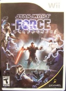 Star Wars: The Force Unleashed (Wii, 2008)