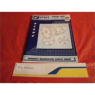 Find TCI Transmission 893300 Reference Book 4L60E TECH MANUAL motorcycle in Atlanta, Georgia, United States, for US $40.92