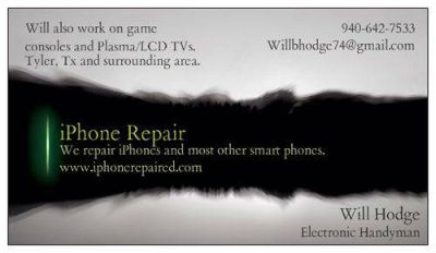 Repair iPhones, iPods, iPads Plasma and LCD TVs, Tablets, and Laptops (Tyler and surrounding area)