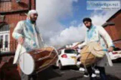 dhol players asian djs bhangra dancers brass band baja [ph re