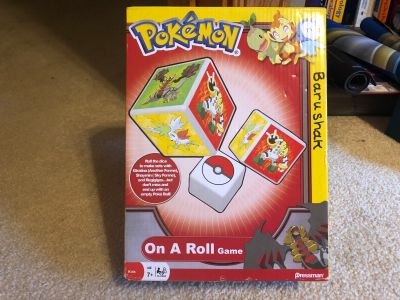 Pokemon On a Roll game