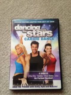 Dancing with the Stars Cardio Dance workout DVD