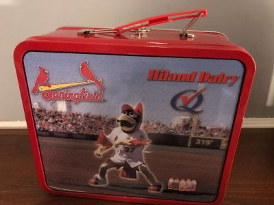 Springfield Cardinals collectible lunch box