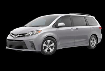 2020 Toyota Sienna LE (Celestial Silver Metallic)