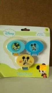 Mickey Mouse Pacifier Holder - 3 pk.