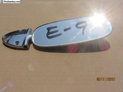 1958 to 1964 bug rear view mirror E-9