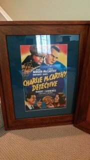 Classic framed posters