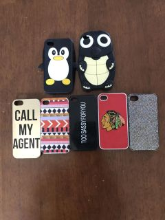 iPhone 5 cases (1$ each)