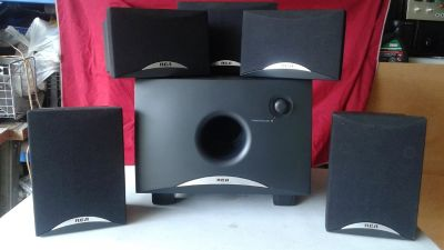 RCA 5.1 surround sound speaker set
