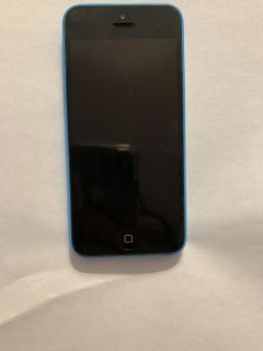 Apple iPhone 5c at&t with original box and a charger