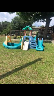 Outdoor play set all $25
