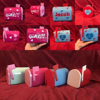 Personalized Valentine Mailboxes