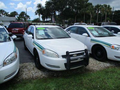 2008 Chevrolet Impala Police (White)