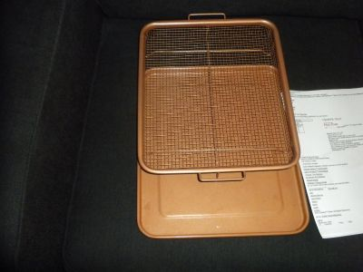 Frying Basket with tray