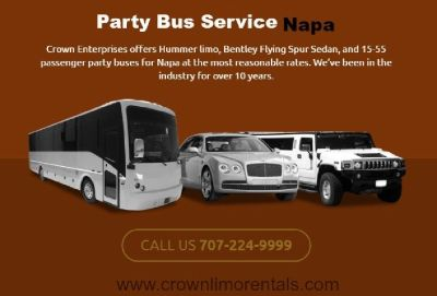 once you've tried Napa affordable Limo Services