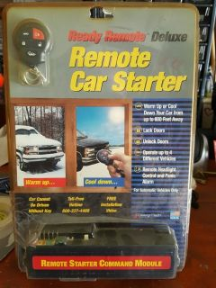 READY REMOTE CAR STARTER