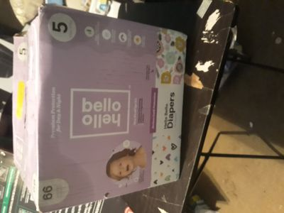 Hello bello diapers size 5