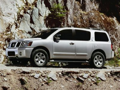 2005 Nissan Armada SE (Red Brawn)