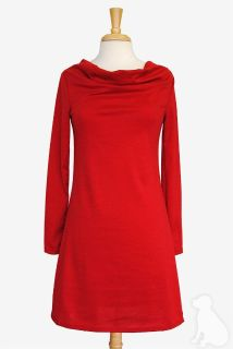 Haley and the hound cowl neck dress retails $89